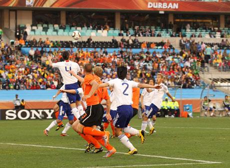 オランダに惜敗(2010 FIFA ワールドカップ 南アフリカ大会)
