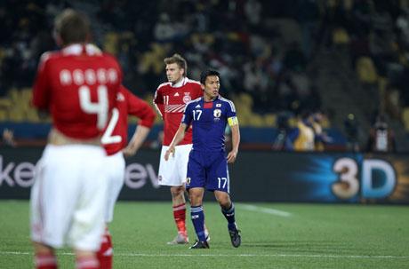 日本決勝トーナメント進出!(2010 FIFA ワールドカップ 南アフリカ大会)