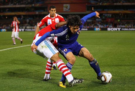 日本代表、惜しくもベスト8の壁越えられず(2010 FIFA ワールドカップ 南アフリカ大会)
