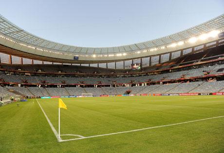 「2010 FIFA ワールドカップ」を3Dで!3D映像が見れる体験コーナー