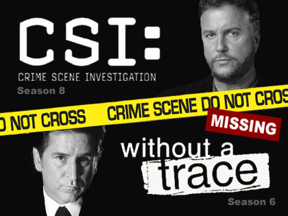 「CSI」がシーズン8で「WITHOUT a TRACE」とクロスオーバー
