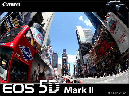 これが「EOS 5D Mark II:キヤノン(Canon)」の動画性能だぁ!