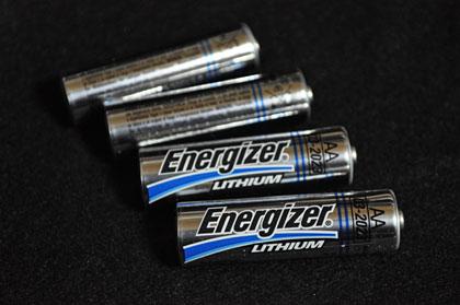「Energizer(エナジャイザー)」リチウム電池ってすげぇっす