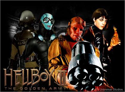 映画「HELLBOY II:THE GOLDEN ARMY(ヘルボーイ/ゴールデン・アーミー)」