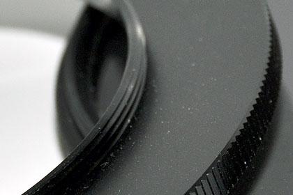 ステップアップリングって便利ぃ(72mmのPLフィルターを52mmに装着)