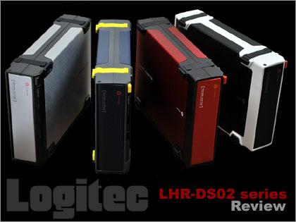 Logitec(ロジテック)の「LHR-DS02シリーズ」を使ってみた