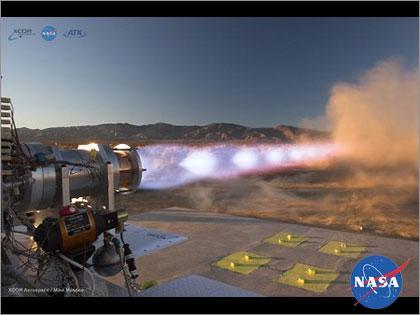 NASA 推進エンジン 燃料 「メタン(CH4)」<br />