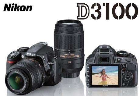 フルHD動画対応、ニコン「D3100」発表ダス(D5000との比較)