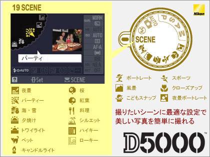 「Nikon(ニコン) D5000」発表! バリアングル液晶モニターでデジイチ入門機にも最適