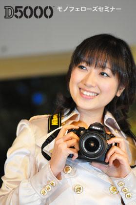 「Nikon D5000」なら苦手な人物撮影も・・・?