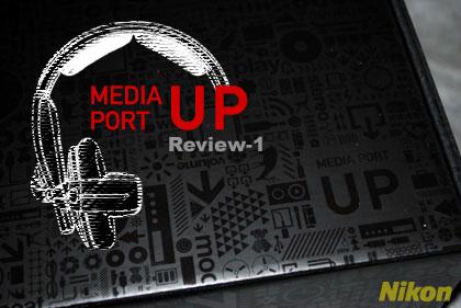 Nikonの「MEDIA PORT UP(メディアポート UP)」が届いたぞぃ:モニター日記-1