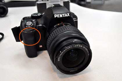 「PENTAX K-x」グリップ性の良さにはビックリ