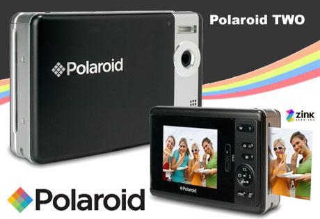 ポラロイド復活! プリンタ内蔵のデジカメ「Polaroid TWO」発売