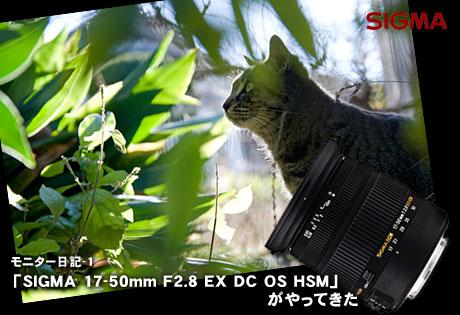 「SIGMA 17-50mm F2.8 EX DC OS HSM」がやってきた