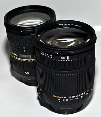一歩寄れる、50mmの差(SIGMA 18-250mm F3.5-6.3 DC OS HSM モニター日記-1)