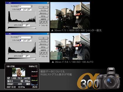 SONY「α300」モニター日記(Act-3:大判プリント前提ならFnキー!?)