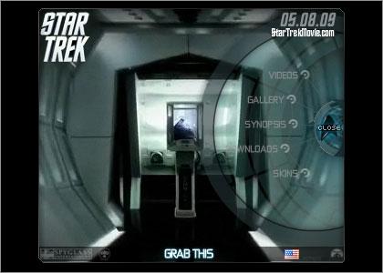 official STAR TREK widget