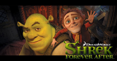 Shrek4「Shrek Forever After」、5月21日公開!