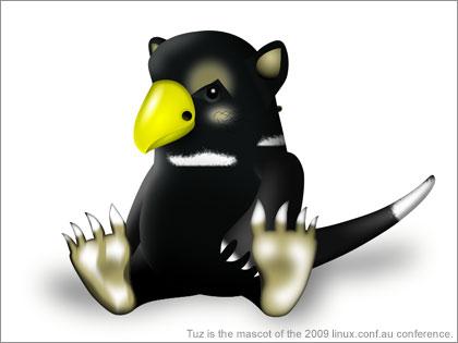 「Tuz」ってLinux 2.6.29用マスコットなん?