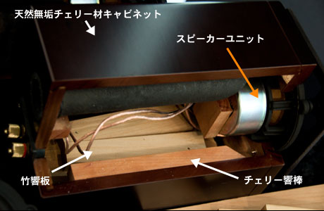 「EX-AR7」は木で作られた原音を忠実に再現する楽器 (2)