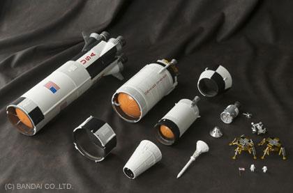 大人の超合金「アポロ11号&サターンⅤ型ロケット」欲しい!