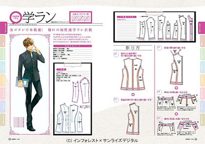COSMODE特別編集「仮想衣装A」と「仮想衣装B」