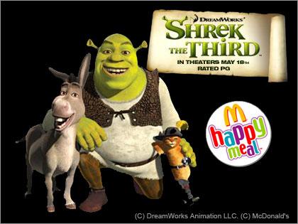 happymeal シュレック(Shrek)