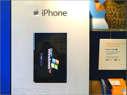 iPhone runs WindowsXP
