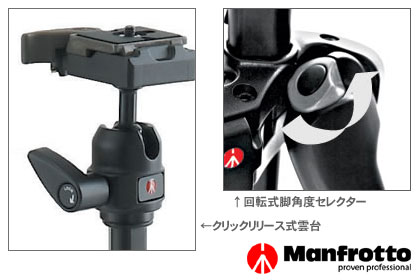 Manfrotto M-Yカーボン三脚「7322CY」で三脚デビュー!