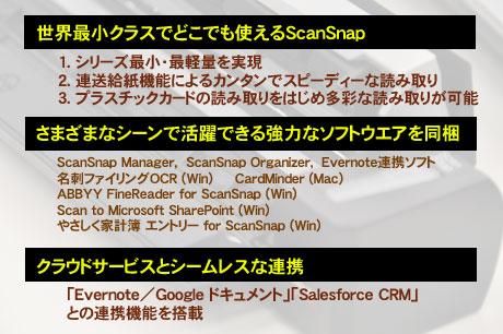 モバイルスキャナ「ScanSnap S1100」があれば家計簿をつけるのも簡単!