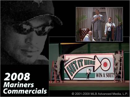 今年のICHIRO(イチロー)のCMは凡作?「2008 Seattle Mariners Commercials」