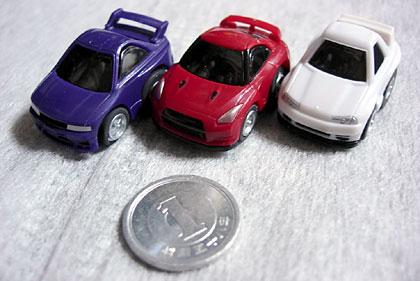 ワンダ「ミニミニチョロQ 歴代GT-Rコレクション」買った?