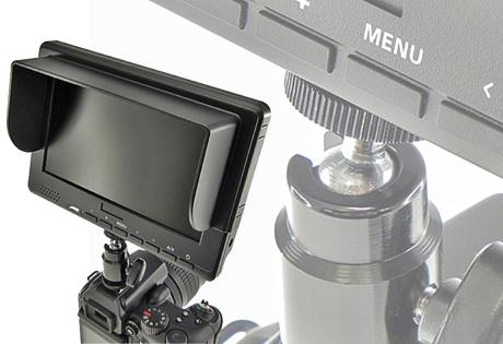 デジイチにも装着できる「7インチ HDMI接続 TFT 液晶モニター」!?