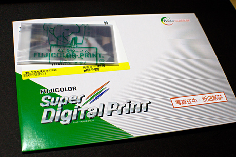 FUJIFILMネットプリントサービスで3Dプリント(カードサイズ)をやってみた(GS-TD1-0)