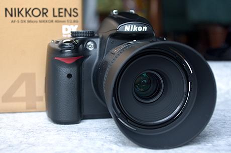 「AF-S DX Micro NIKKOR 40mm f/2.8G」到着!