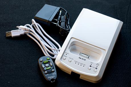 iPhone/iPodドックスピーカー「Olasonic TW-D7IP」がやってきた!