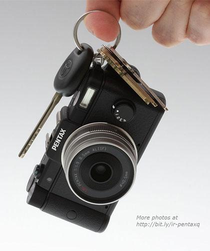 ナノ一眼「PENTAX Q」発表!レンズ交換式で世界最小最軽量