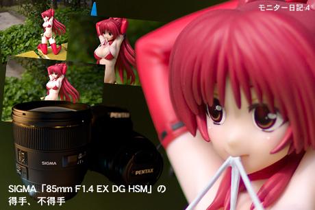 SIGMA「85mm F1.4 EX DG HSM」の得手、不得手:モニター日記-4