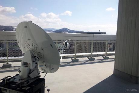 超高速インターネット衛星「きずな(WINDS)」が東北地方太平洋沖地震で災害対策支援中