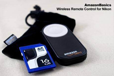 夜間撮影用に Amazonベーシック「ニコン一眼レフ用ワイヤレスリモコン」買った