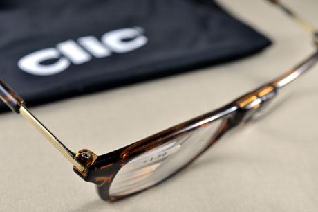 母の日、父の日のプレゼントにCSIのシドのメガネ「clic readers」はいかが?