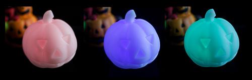100円ショップでオススメハロウィングッズ!「パンプキン型 LEDライト」