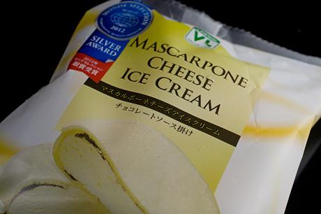 ローソンストア100恐るべしっ(3):「MASCARPONE CHEESE ICE CREAM」が美味い!