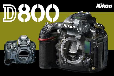 「Nikon D800」「Nikon D800E」発表!「D700」と仕様比較
