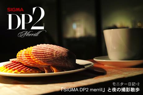 DP2 merrillモニター日記-2:「SIGMA DP2 merrill」と夜の撮影散歩