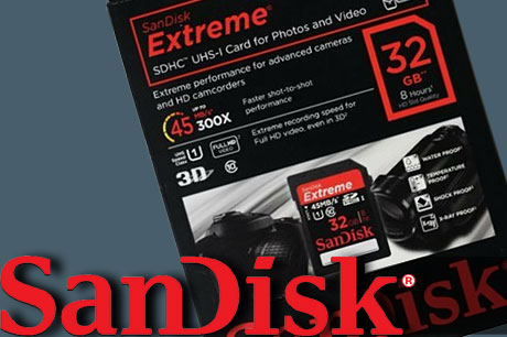 Sandisk Extreme SDHC 32GB HD Video Class10 45MB/s x300 UHS-1対応が激安