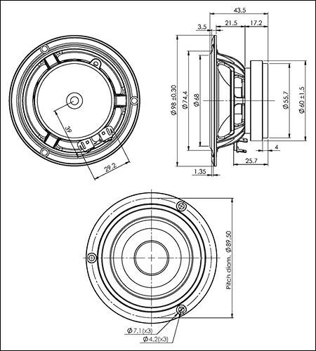 今年はついに10cm!「Stereo 2012年8月号」の付録はスキャンスピーク製オリジナルスピーカー・ユニットとな