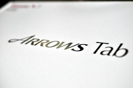 ドコモXiタブレットモニターキャンペーンの「ARROWS Tab LTE F-01D」がやってきた