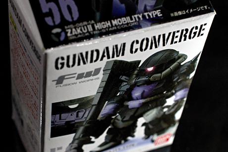 「FW GUNDAM CONVERGE 9」三連休ならぬ三連星(ZAKU-2)を買ったっす
