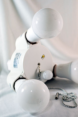 「東芝 E-CORE LED電球 <キレイ色-kireiro->」でおいしい生活!